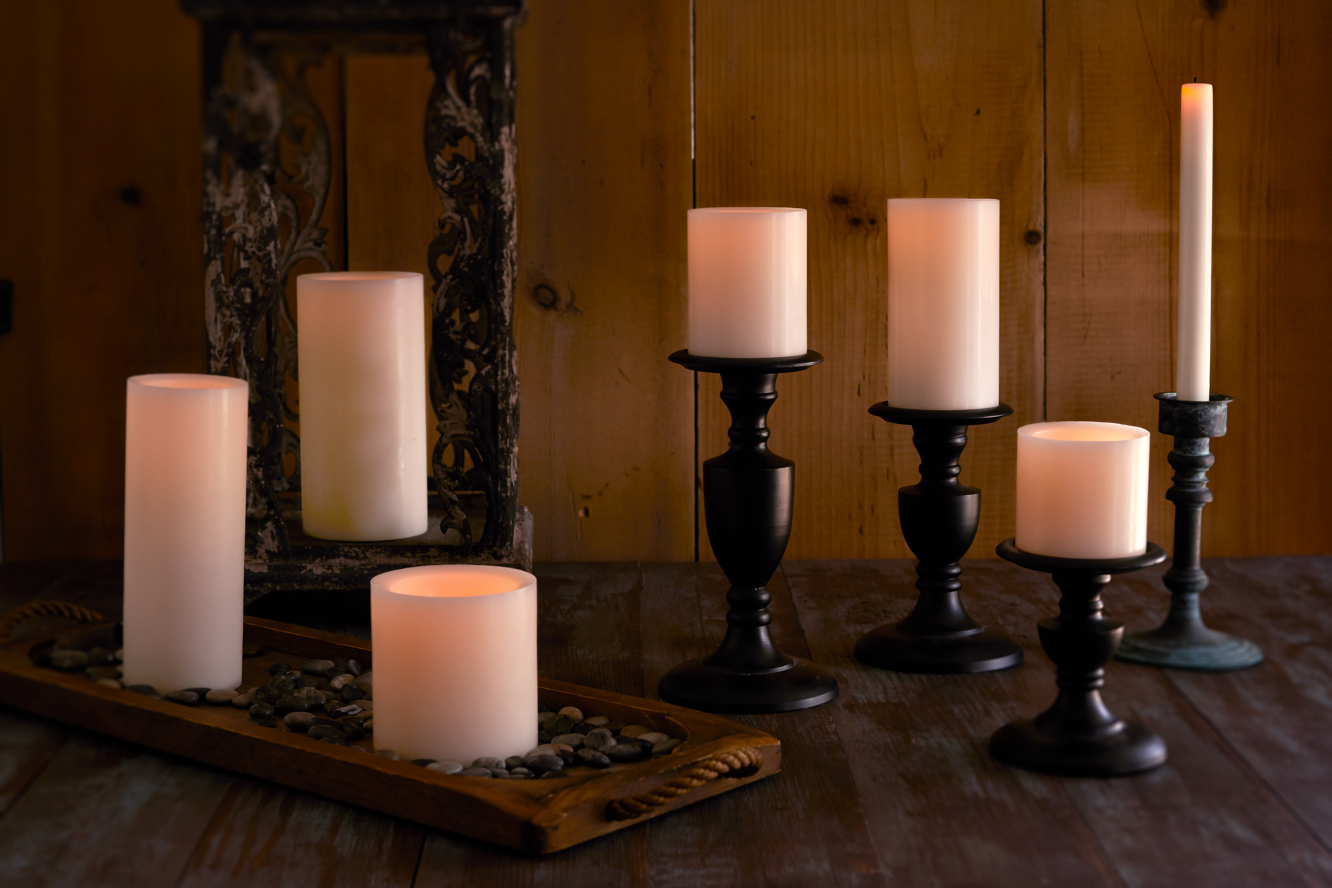 Flameless Led Candles Hand Dipped Wax Matchless Candle Co